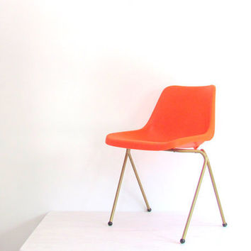 Mid Century Scoop Chair Eames Era by Niftic on Etsy