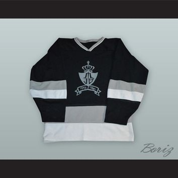 Mary J Blige Black Hockey Jersey