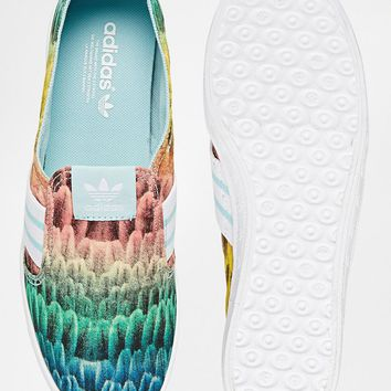 Adidas Originals Adria Multi Coloured Slip On Trainers
