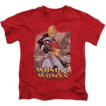 Jla - Wonder Woman Short Sleeve Juvenile 18/1