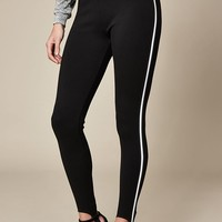 LA Hearts Stripe Stirrup Leggings at PacSun.com