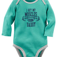 Muscles From Daddy Collectible Bodysuit