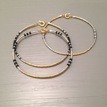 Gold Layering Bracelet Gold filled bracelet Everyday Bracelet Simple Bracelet layering jewelry