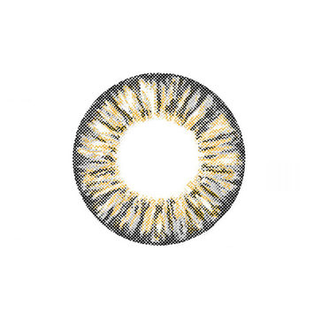 Circle lenses CICI Hee Love -  Pineapple three-color (Grey)