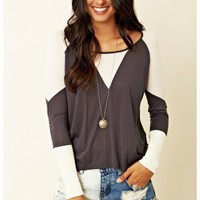 Townsen - Rib-Combo Long Sleeve Top