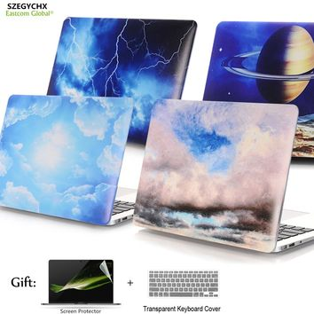Starry Sky Series Hard Case Protector Laptop Case For MacBook Air 11 13 inch For Macbook Pro with Retina 12 13.3 15 Cover