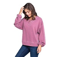 Bella Burnout Sweater by The Southern Shirt Co.