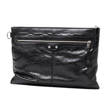 balenciaga leather oversized clutch bag 273023 2