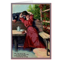 Only Your Kiss - Vintage Valentine Card