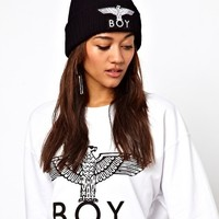 BOY London Eagle Beanie Hat