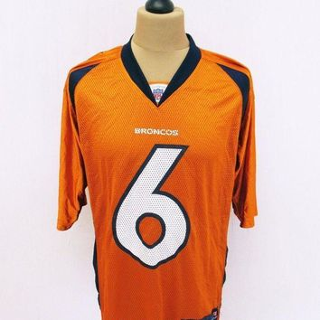 CREYON Denver Broncos NFL American Football Kit Top Jersey T-Shirt Medium Outsized