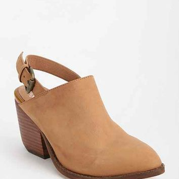 Jeffrey Campbell Ft. Collins Suede Slingback Mule- Tan