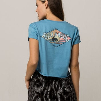 BILLABONG Time Wrap Womens Crop Tee