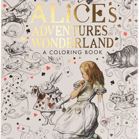 Alice's Adventures in Wonderland Coloring Book