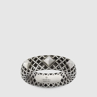ring in silver with studs 410621J84008111