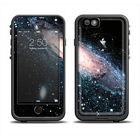 The Swirling Glowing Starry Galaxy Apple iPhone 6/6s Plus LifeProof Fre Case Skin Set