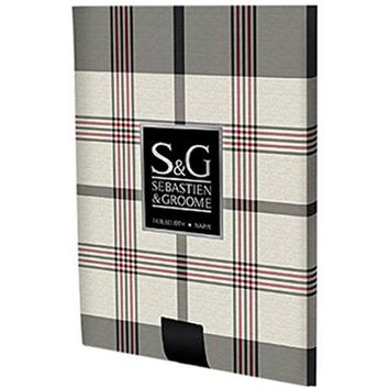 Sebastien & Groome TCY6148960 Sherwood Plaid Round Tablecloth, 60""