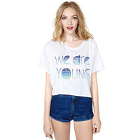 Stylish Print T-shirts [6049102657]
