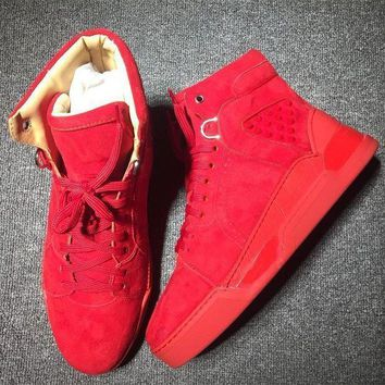 DCCK Cl Christian Louboutin Style #2122 Sneakers Fashion Shoes