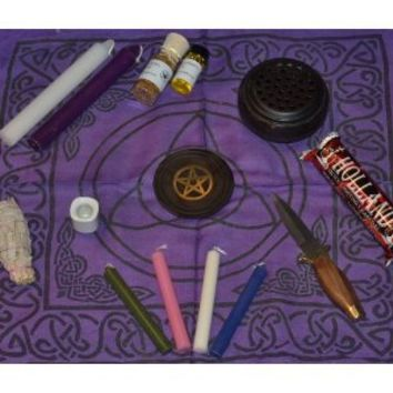Beginner Wicca Altar Set