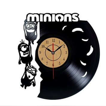 Minions Laser Cut Wall Clock