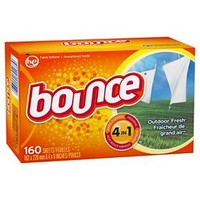 Bounce Outdoor Fresh Fabric Softener Dryer Sheets 160 ct : Target
