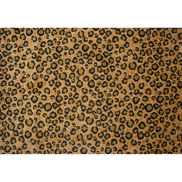 Fun Rugs Supreme Collection Leopard Skin Area Rug
