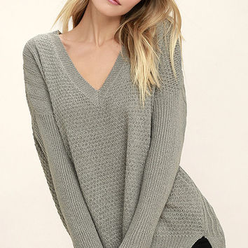 This Town Grey Sweater