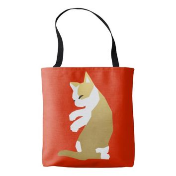 Fortune Cat (Chinese New Year) Tote Bag