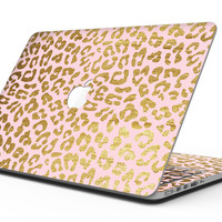 Pink Gold Flaked Animal v2 - MacBook Pro with Retina Display Full-Coverage Skin Kit