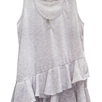 Layered Ruffle Tank *More Colors