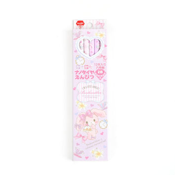 Bonbonribbon 12 Piece 2B Pencil Set: Favorite Things