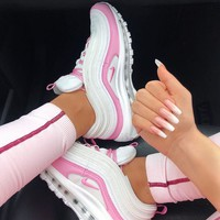 shosouvenir Nike Air Max 97 Women Fashion Casual Sneakers Sport Shoes SR