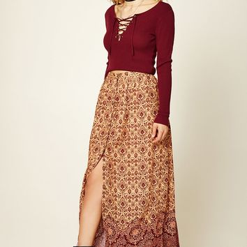 Contemporary Baroque Maxi Skirt