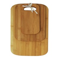Oceanstar 3-Piece Bamboo Cutting Board Set - Walmart.com