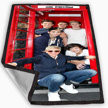 One Direction Phone Home Blanket for Kids Blanket, Fleece Blanket Cute and Awesome Blanket for your bedding, Blanket fleece *