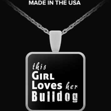 Bulldog - Necklace