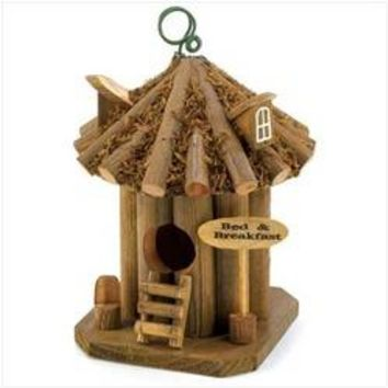 Bed And Breakfast Birdhouse (pack of 1 EA)