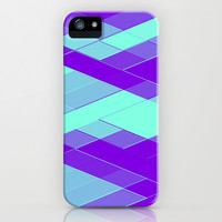 Re-Created Vertices No. 23 iPhone & iPod Case by Robert S. Lee