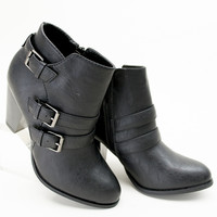 Buckle Trio Booties