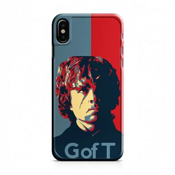 Tyrion Lanister Game of Thrones Inspired iPhone X Case