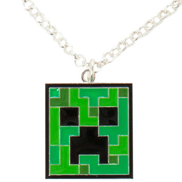 Minecraft - Creeper Pendant