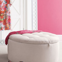 "Lilly Pulitzer Home - ""Rousseau"" Ottoman - Horchow"