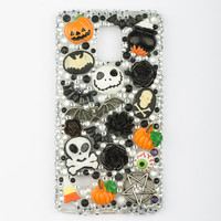 Halloween goth spooky decoden Samsung Galaxy Note 4 phone case