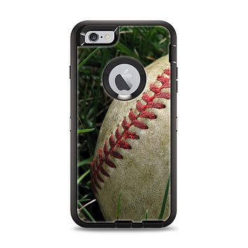 The Grunge Worn Baseball Apple iPhone 6 Plus Otterbox Defender Case Skin Set