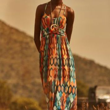 Noetzie Maxi Dress by Maeve Red Motif