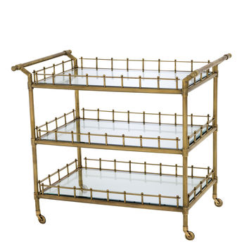 Brass Bar Cart | Eichholtz Scarlett