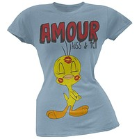 Looney Tunes - Tweety Amour Juniors T-Shirt