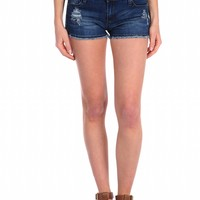 Tractr Basic Fray Short