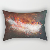 Icarus Rectangular Pillow by HappyMelvin
